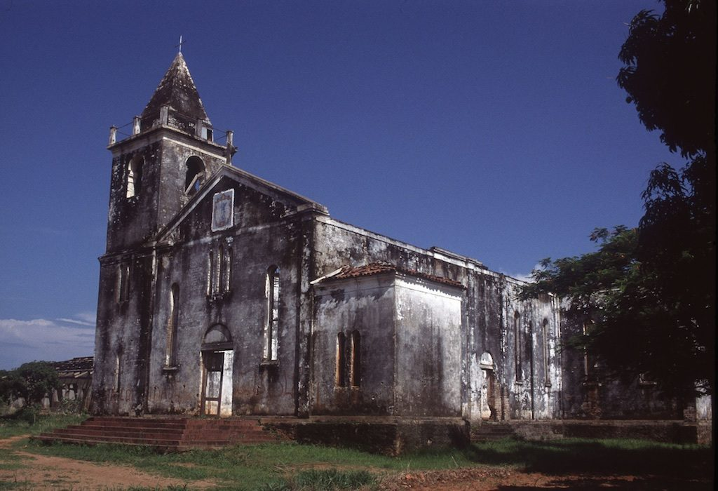 kerk in Cobue Mozambique