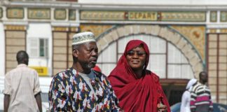 Dakar Senegal treinstation