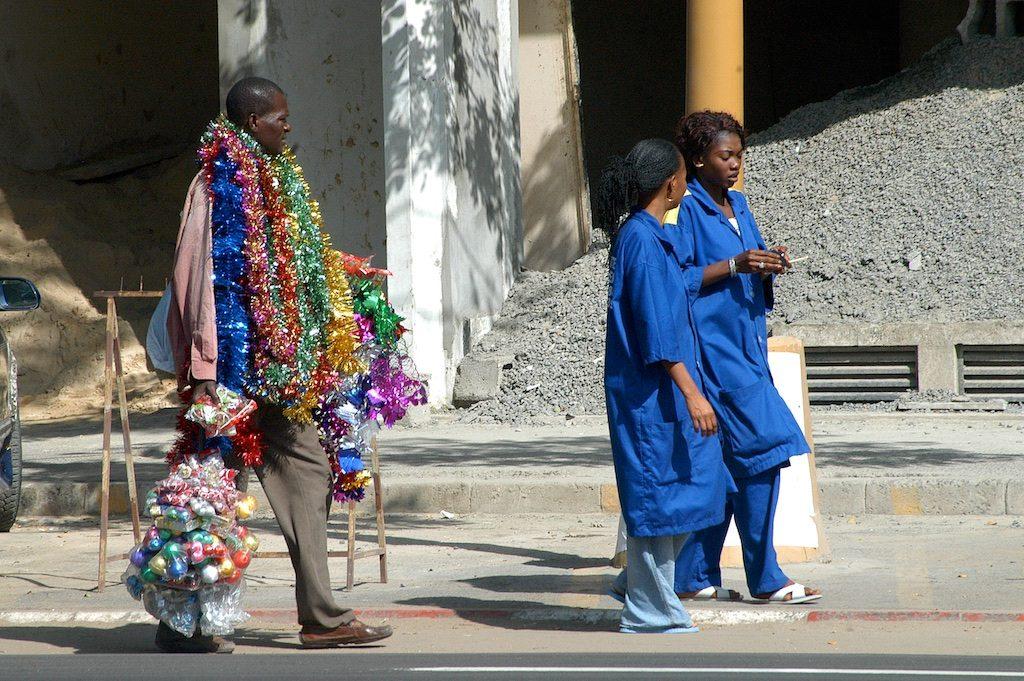 Kerst in Dakar Senegal