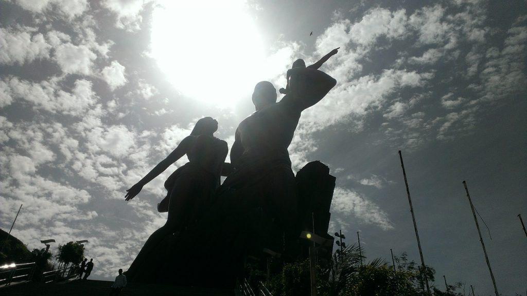 Monument voor de Afrikaanse Wedergeboorte