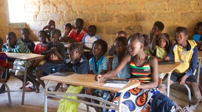 Een school bouwen in de Casamance