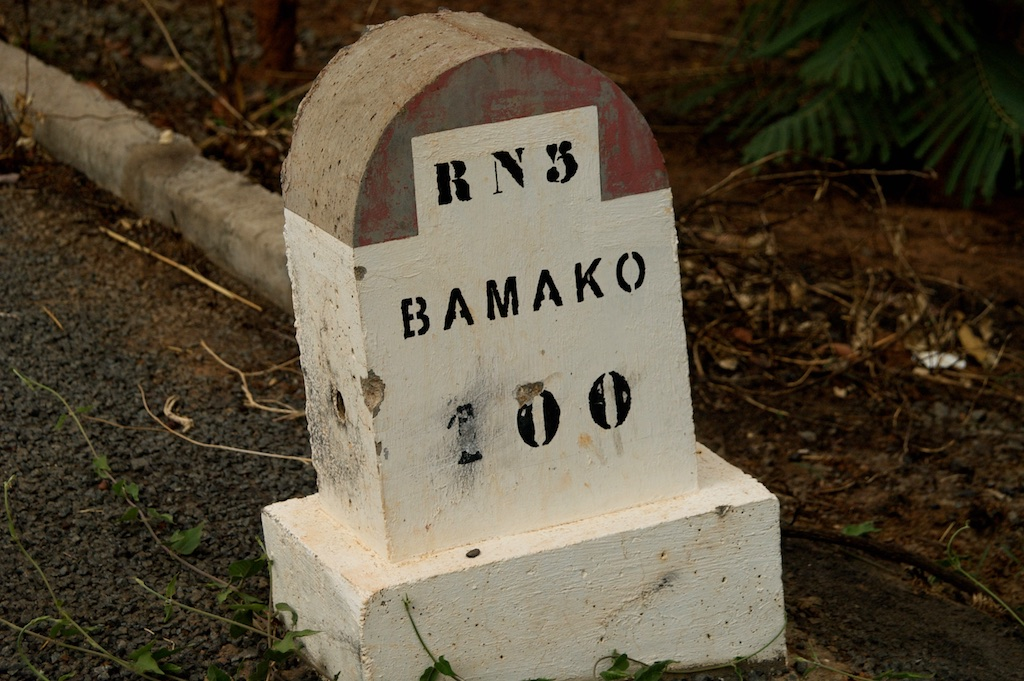 Route Bamako