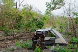 Wildkamperen in Mali