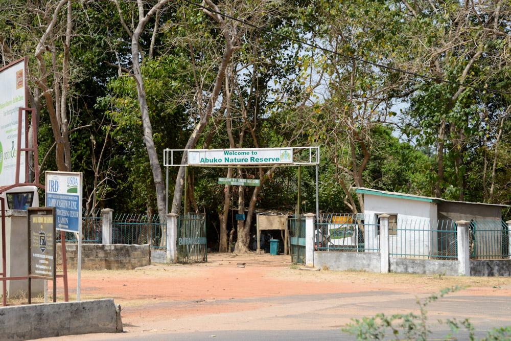 Ingang Abuko Nature Reserve