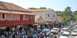 Albert Market Gambia