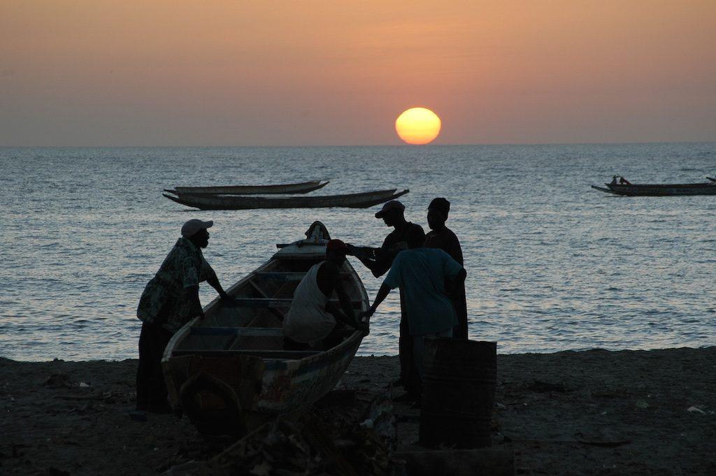Vissers Gunjur Gambia