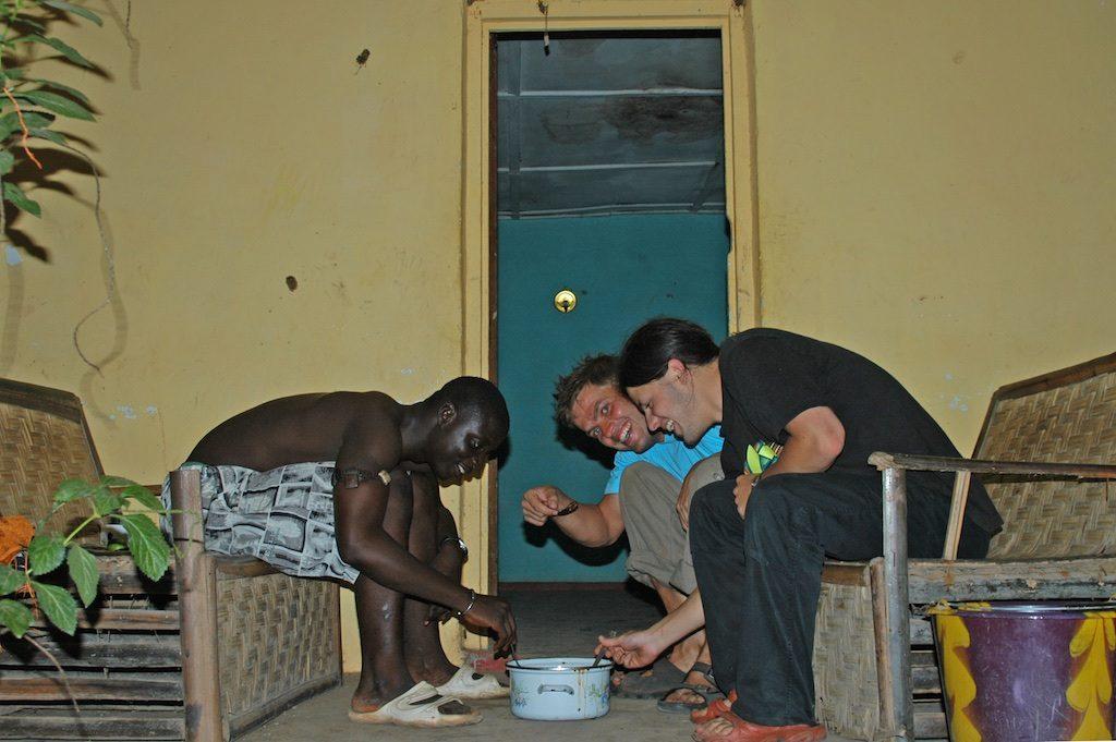 Lunch Gunjur Gambia