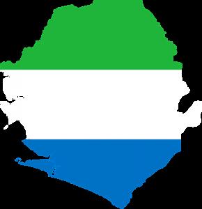 vlag Sierra Leone