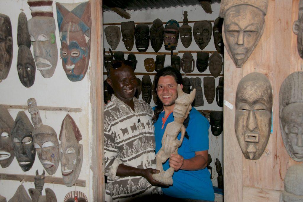 village artisonal Abene Casamance Senegal