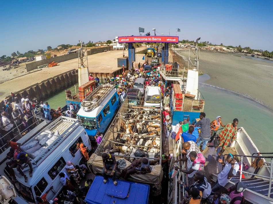 Barra banjul veerpont Gambia