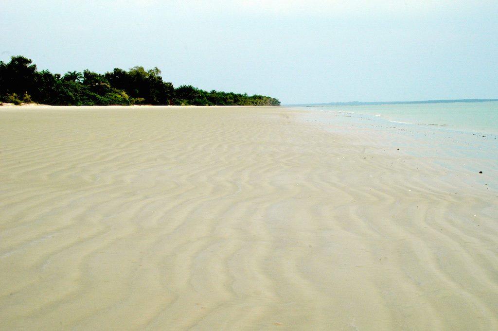 Praia Bruce Bubaque Guinee-Bissau