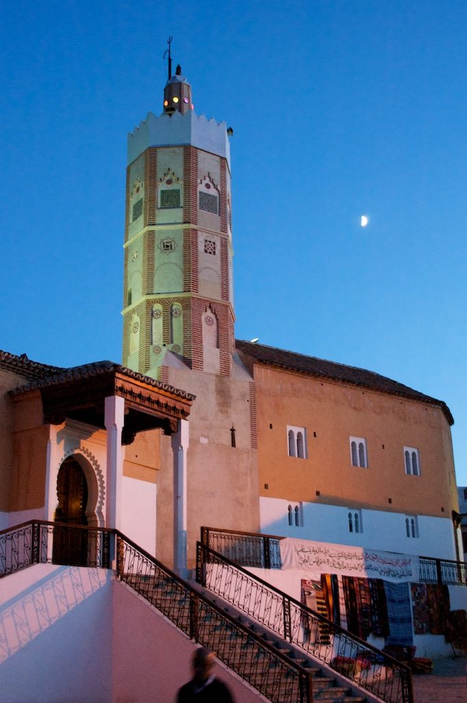 Moskee Chefchaouen Marokko