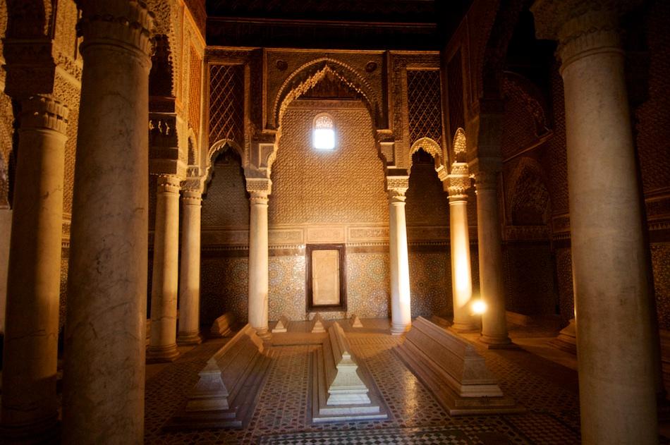 Saadian Tombs Marrakech Marokko