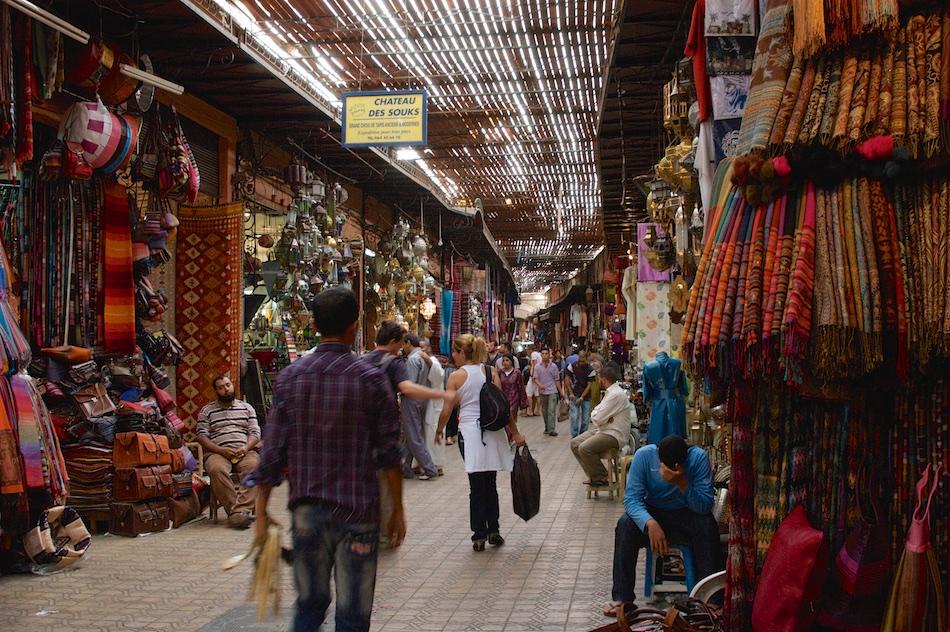 Soeks Marrakech Marokko
