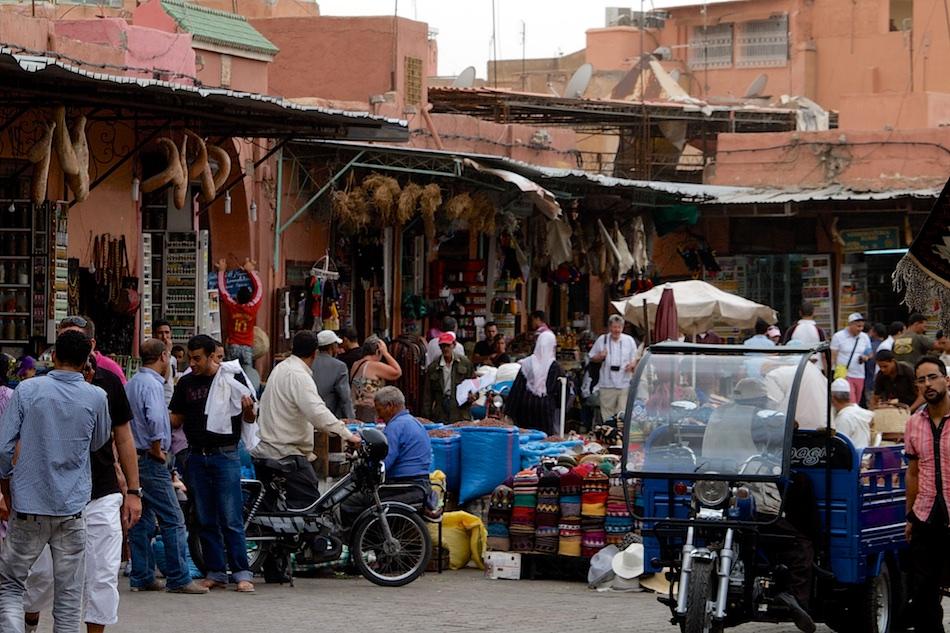 Marrakech Marokko Soeks