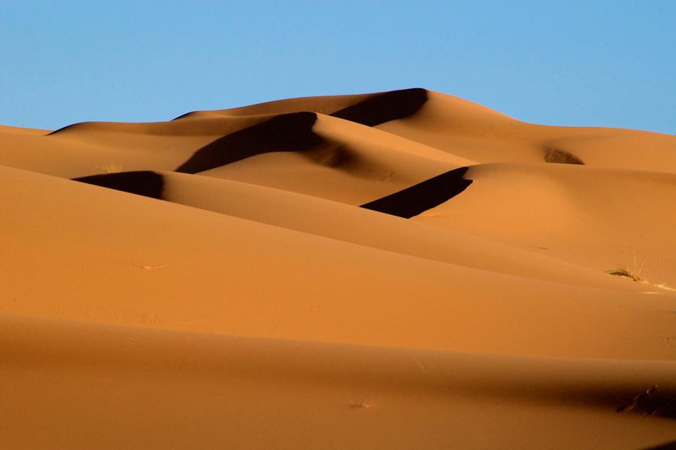 Woestijn duinen Merzouga Marokko