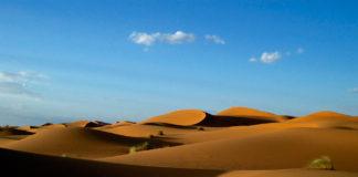 Zandduinen Merzouga Marokko