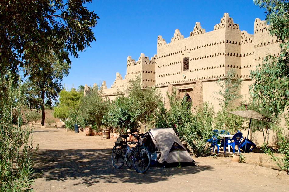 Camperen in Merzouga Marokko