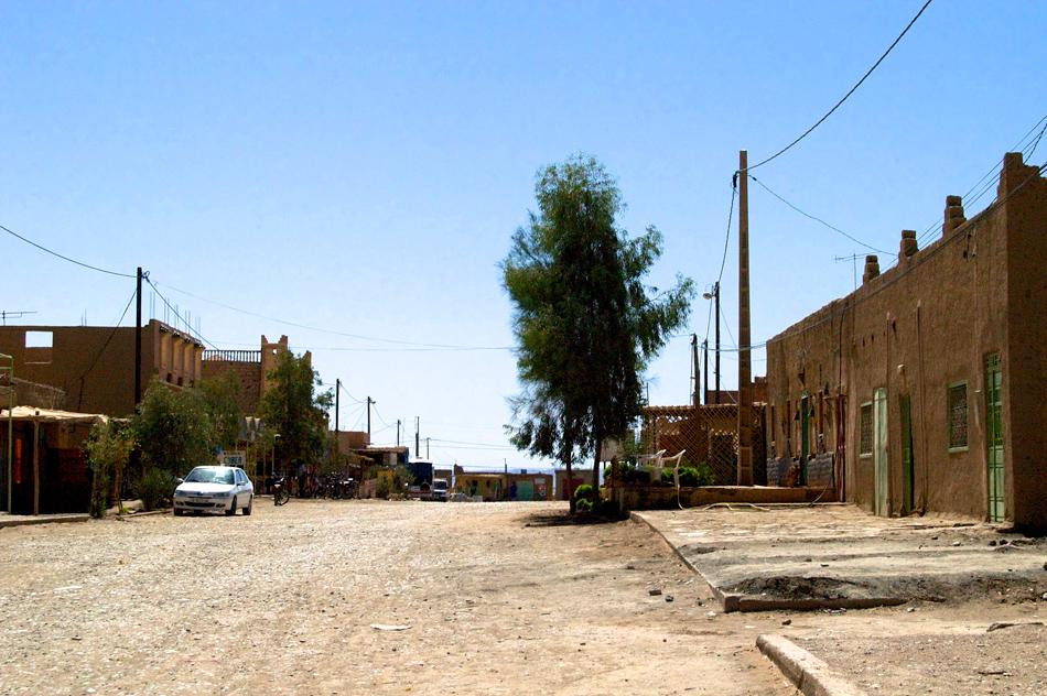 Weg Merzouga Marokko
