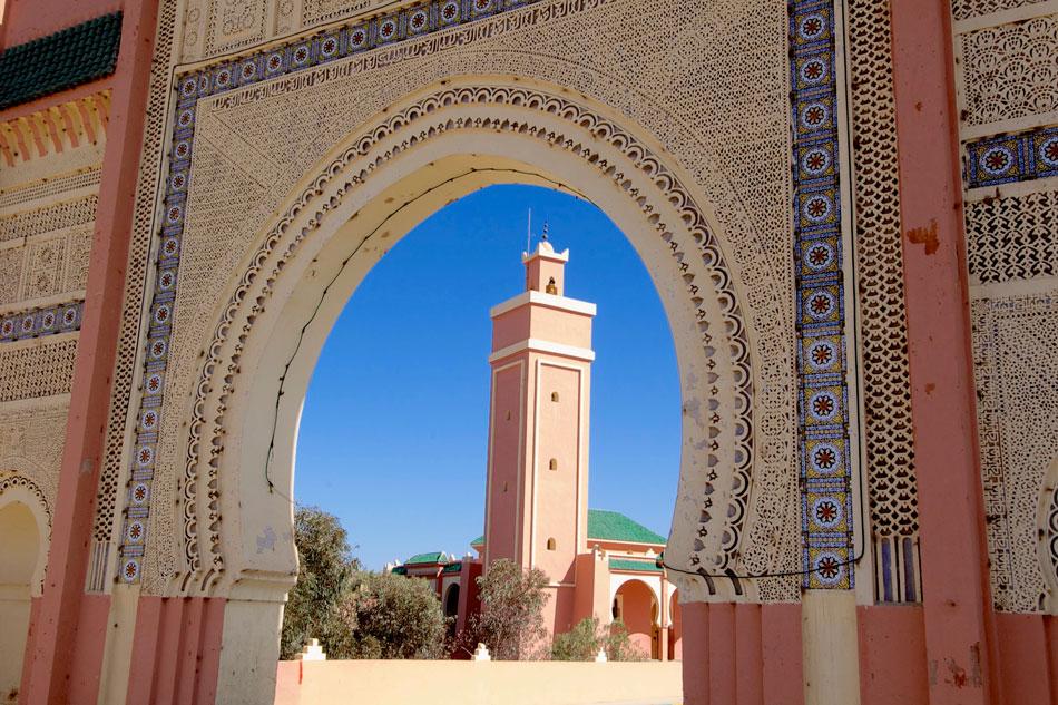 Moskee Rissani Marokko