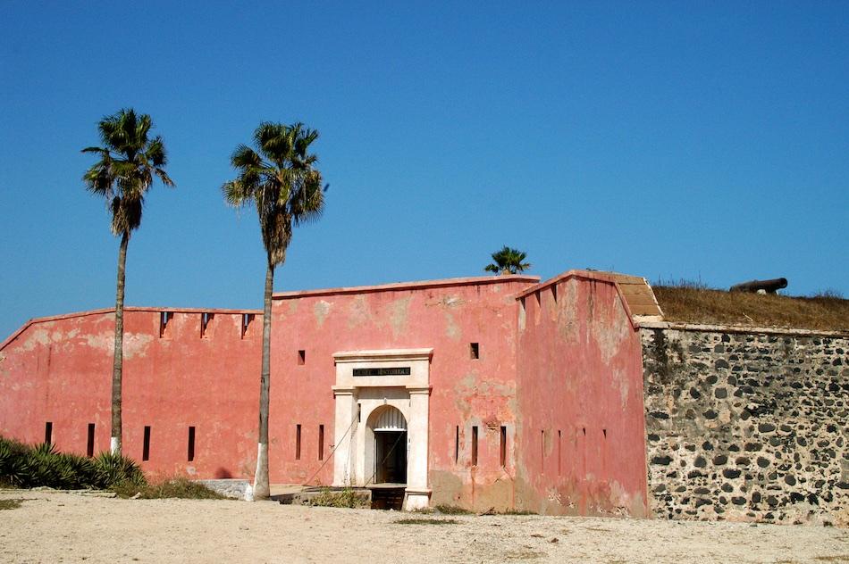 Senegal Ile de Goree fort