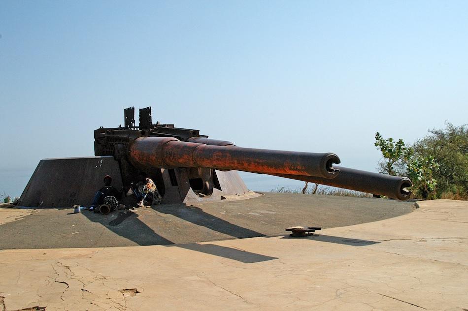 Senegal Ile de Goree kanon
