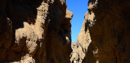 Sesriem Canyon Namibië