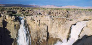 Augrabies waterval Zuid Afrika
