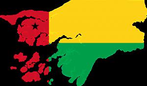 Vlag Guinee-Bissau