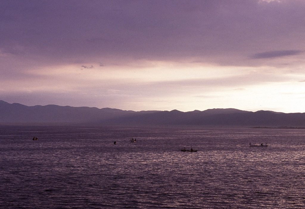 Zonsopkomst Malawimeer Malawi