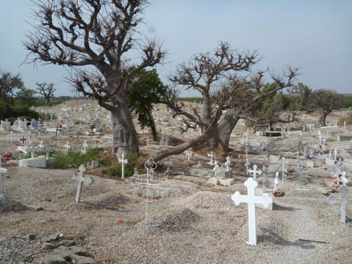 Begraafplaats Joal-Fadiouth Senegal
