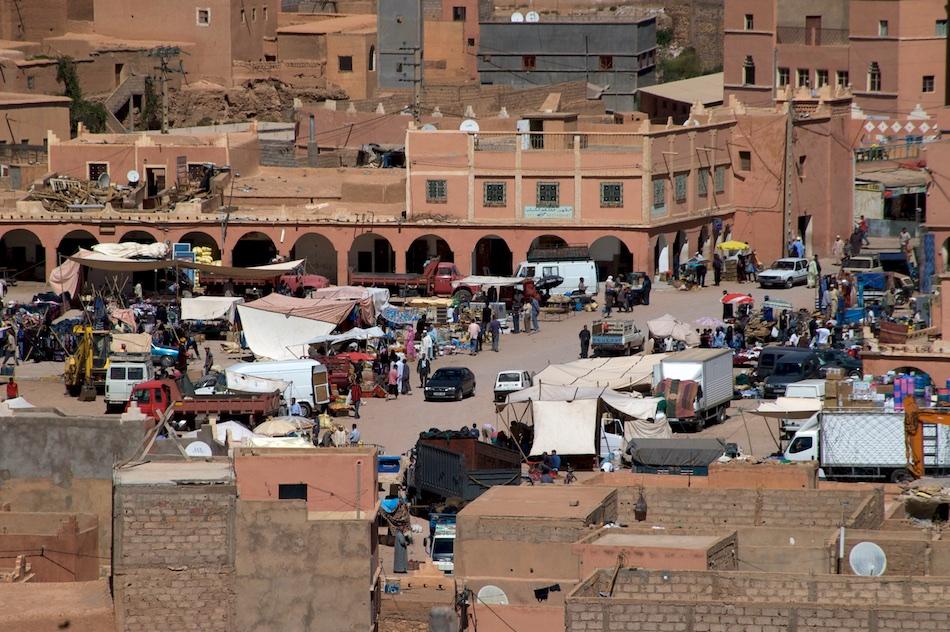 Boumalne Dades Kloof Marokko