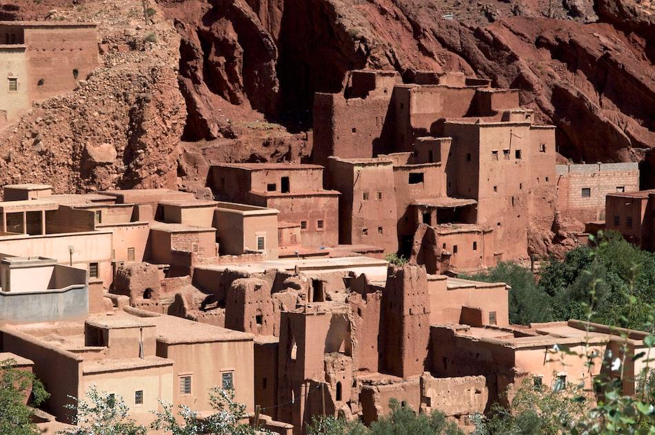 Dades Kloof en vallei Marokko