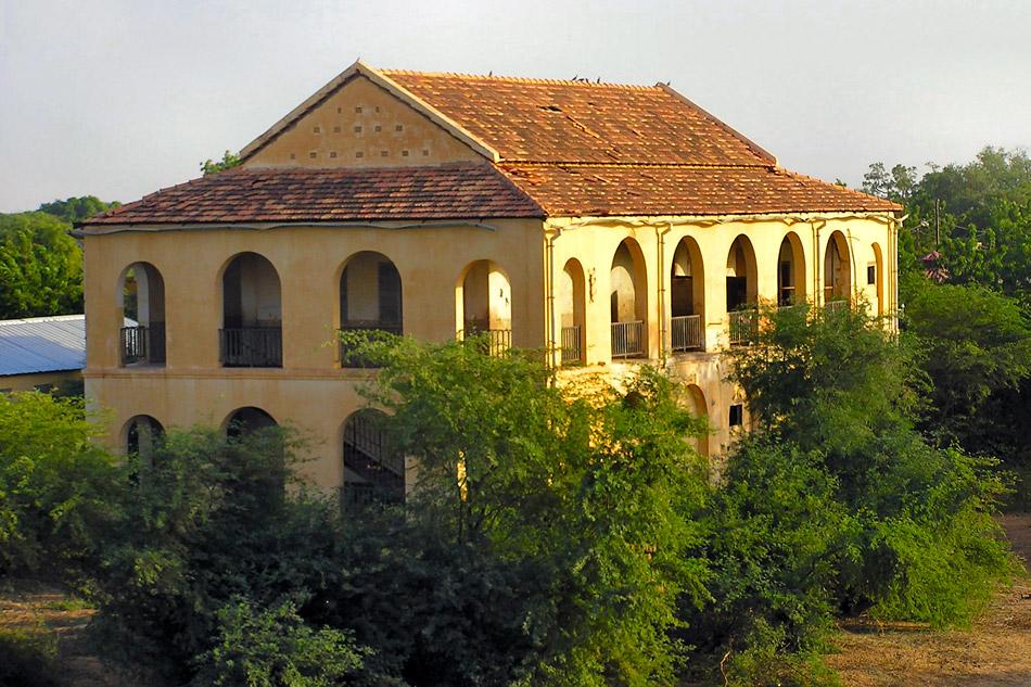 Fort en museum in Podor Senegal