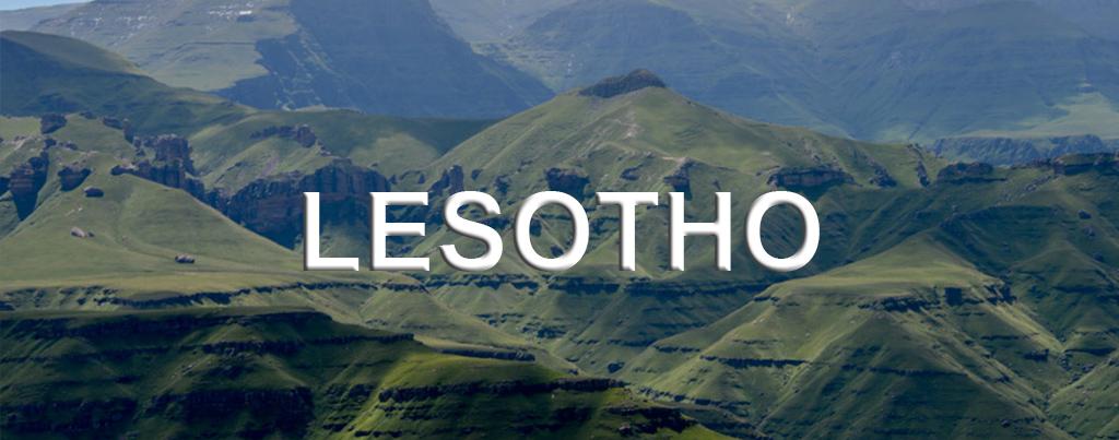 Lesotho Zuid-Afrika Afrika