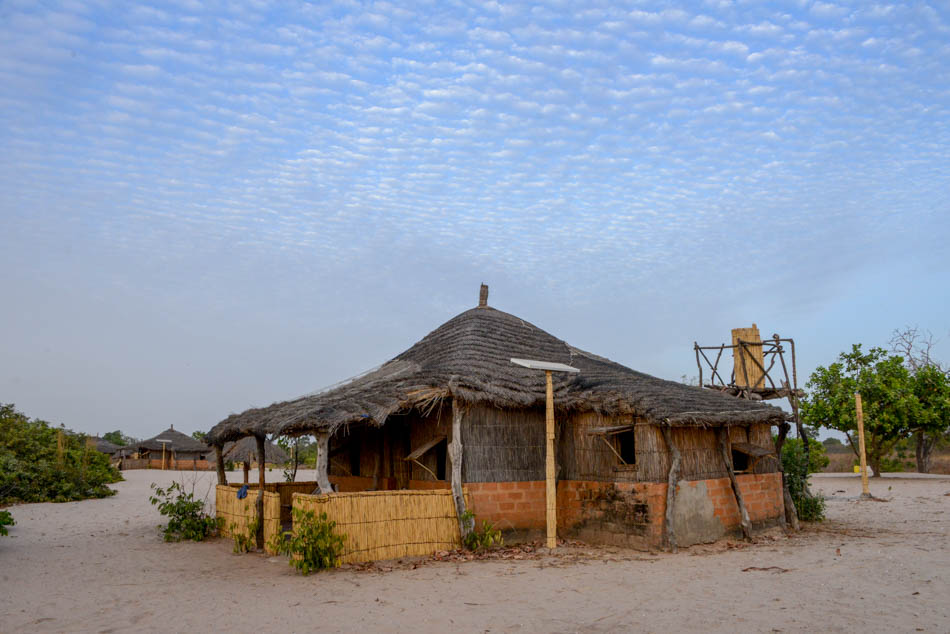 Onderdak Sipo Sine Saloum Delta Senegal