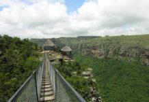 Oribi kloof Zuid-Afrika hangbrug