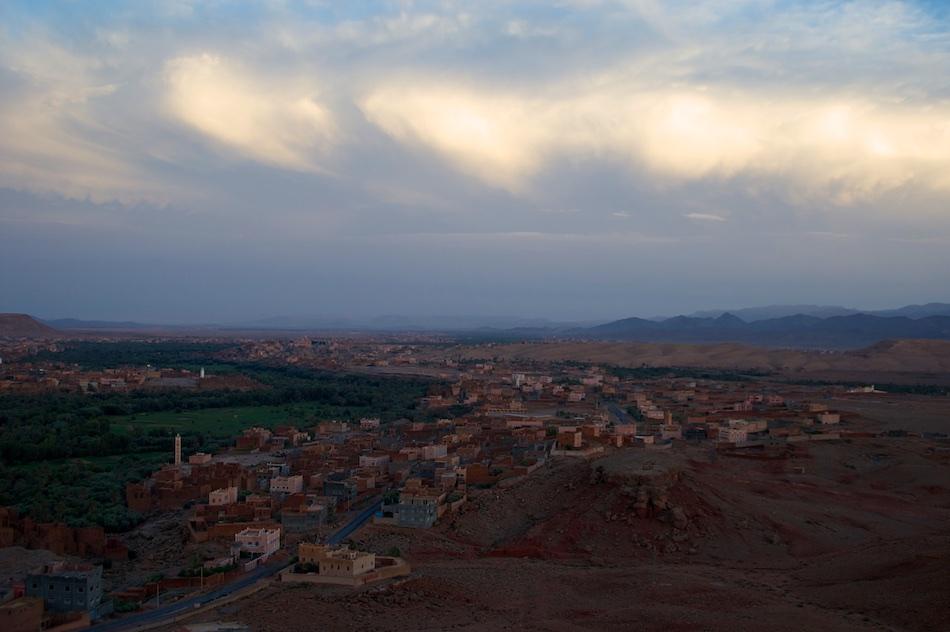 Tinghir bij de Todra Kloof Marokko