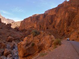 Todra Kloof Gorge Marokko