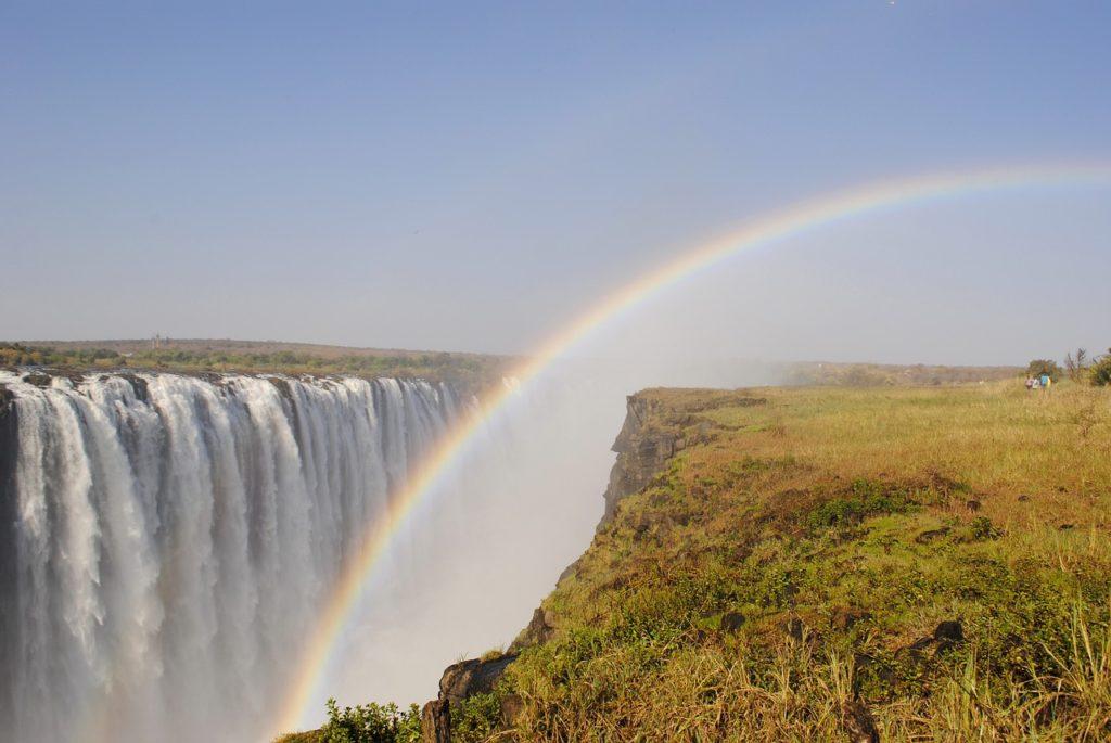 Victoria Falls waterval Zimbabwe