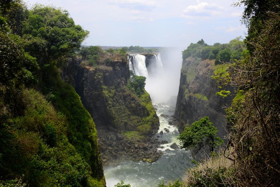 Victoria Falls watervallen Zimbabwe