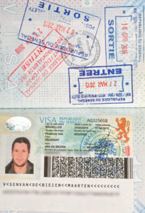 Visum paspoort Senegal