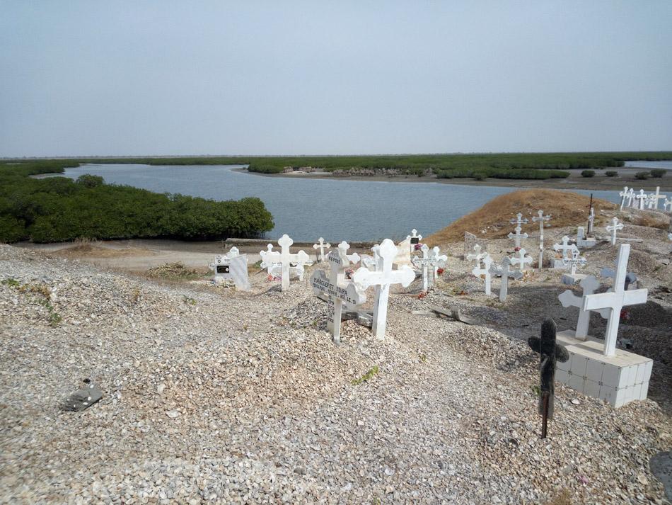 begraafplaats van Joal-Fadiouth in Senegal