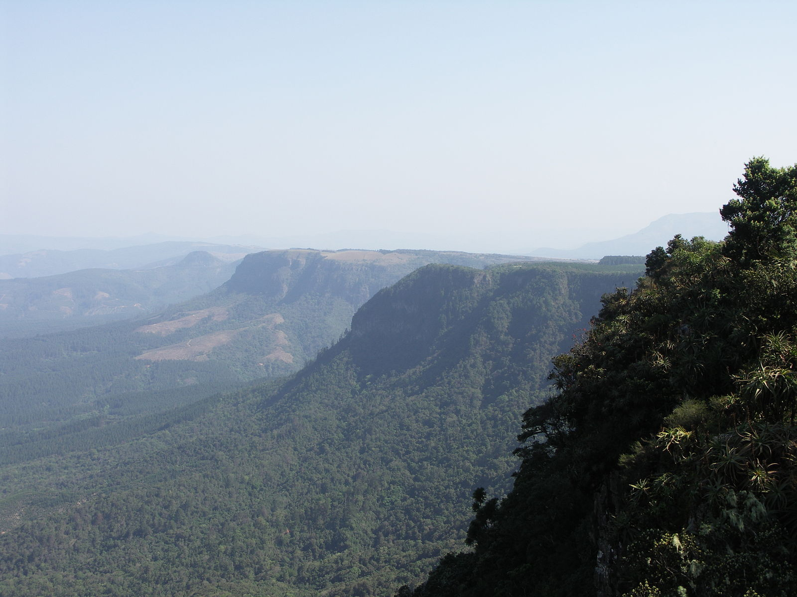 Blyde River Canyon Gods Window