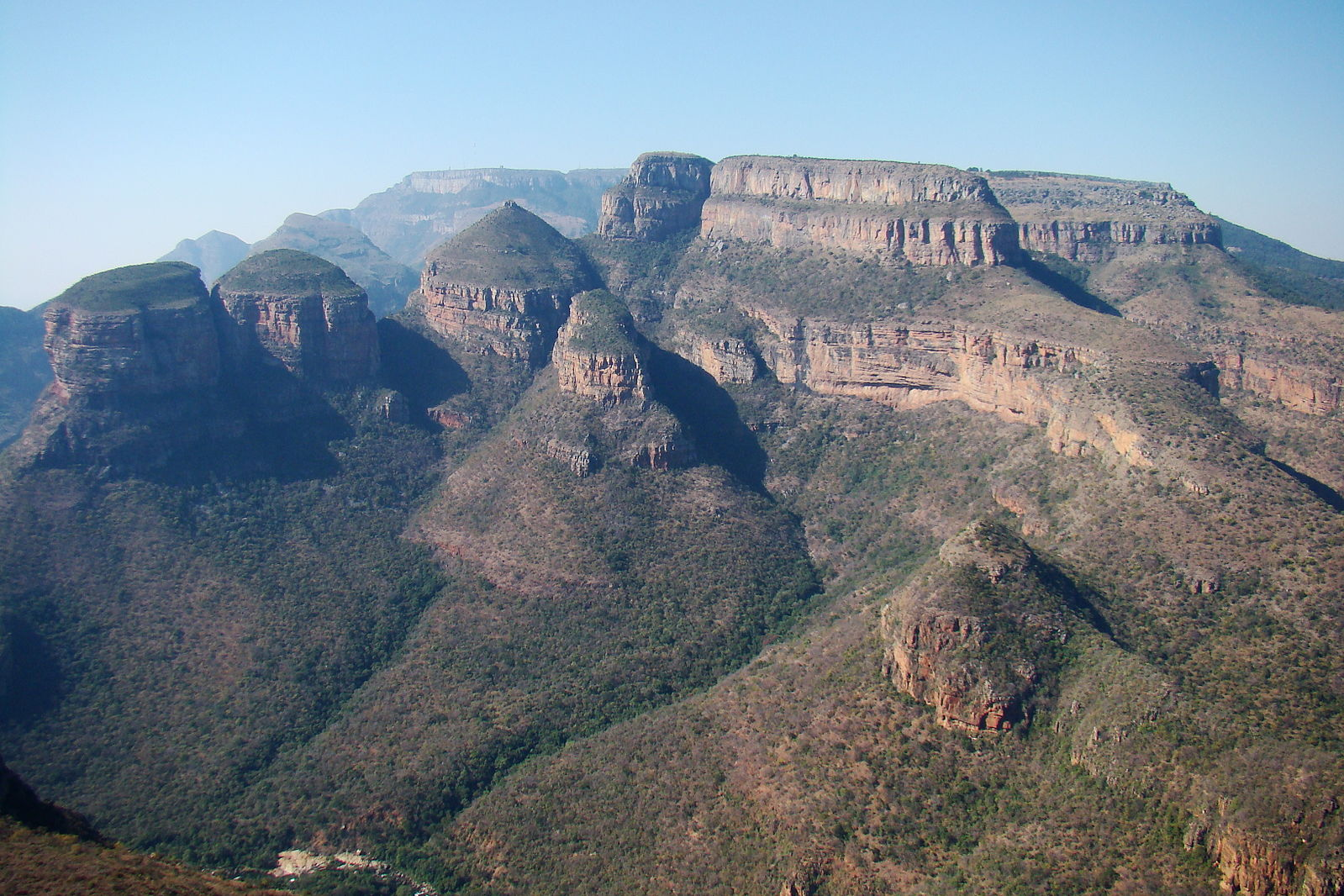 Blyde River Canyon three sisters