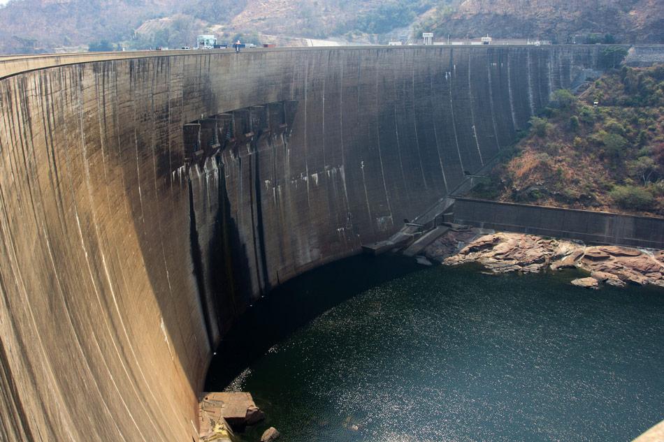 Dam Lake Kariba Zimbabwe
