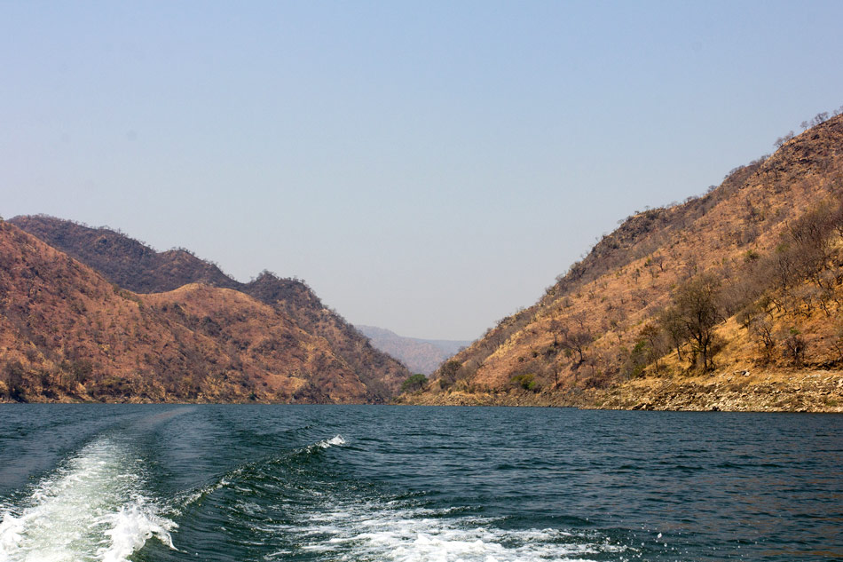 Houseboat Lake Kariba Zimbabwe