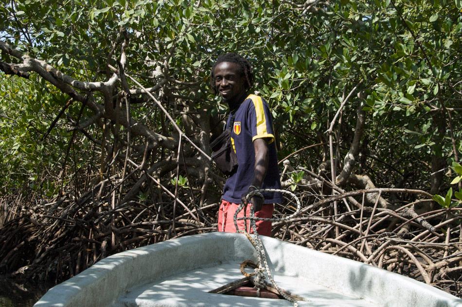 Oussouye Casamance mangrove