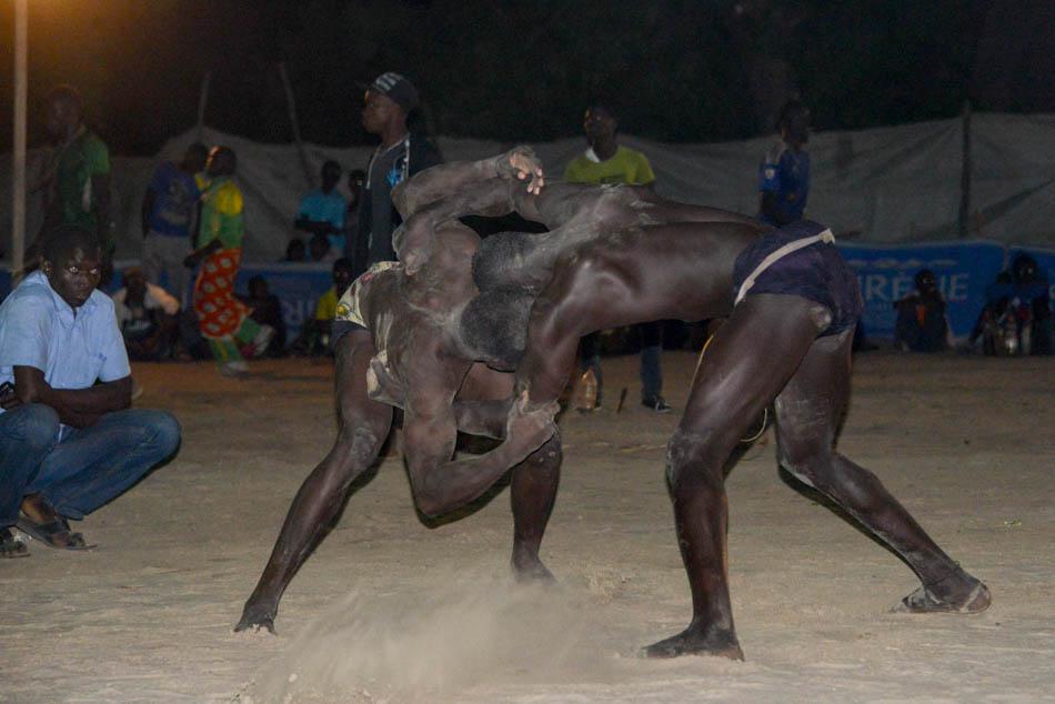 Oussouye worstelen Casamance Senegal