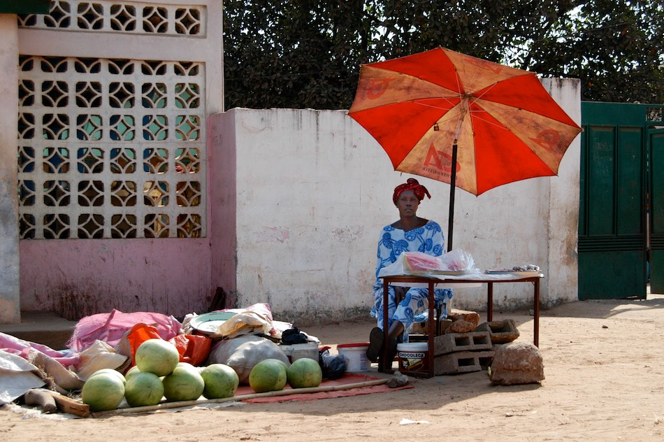 Watermeloenen serekunda gambia